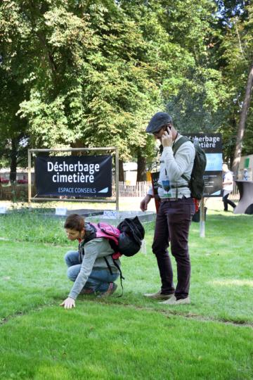 Salonvert Espace Conseils désherbage cimetière